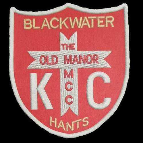 The Old Manor MCC Hants KC Embroidered Biker Patch
