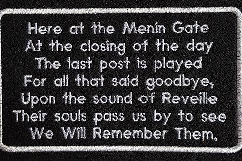 26   Menin Gate