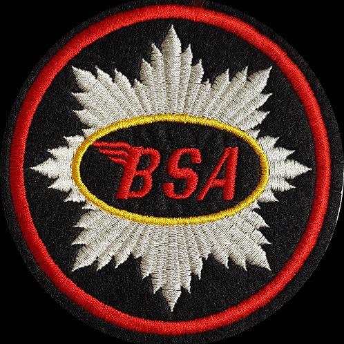 BSA Best Embroidered Biker Patch