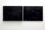 2枚の黒い板