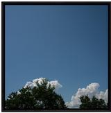 雲をみている