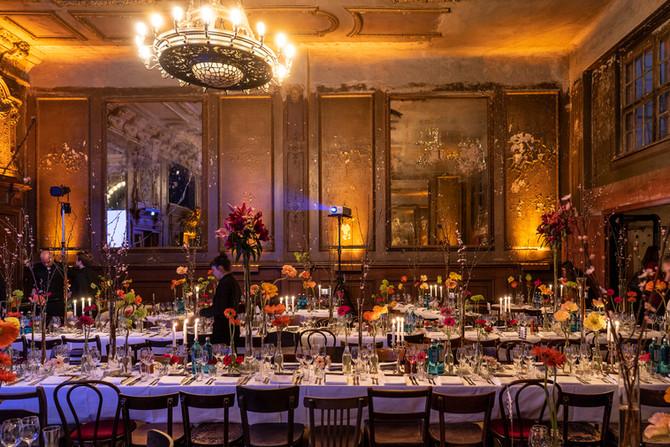 Fine Dining mit Ares Management im Spiegelsaal