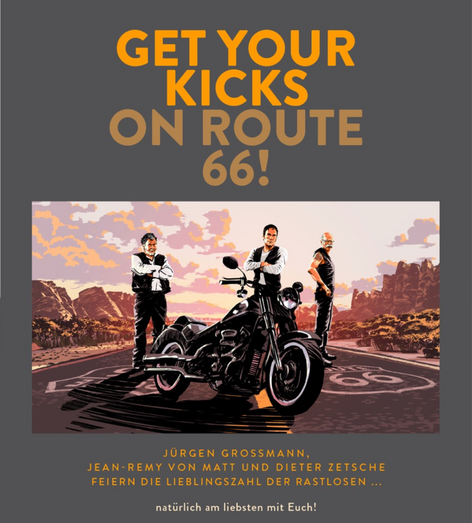Get your Kicks on Route 66 Party im Spiegelsaal in Clärchens Ballhaus