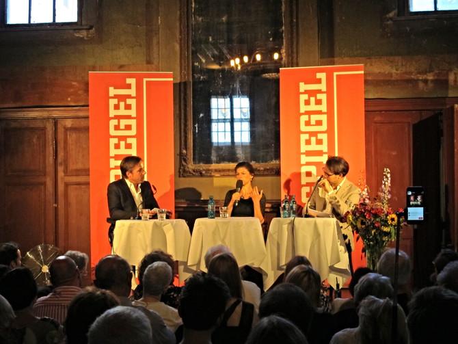 DER SPIEGEL im Gespräch mit Sahra Wagenknecht @Spiegelsaal