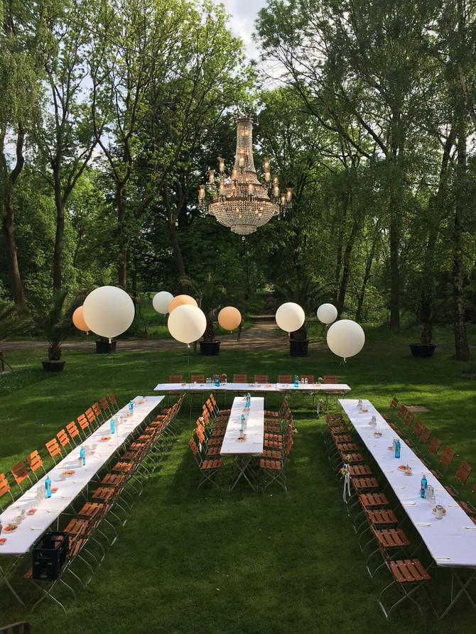 Hochzeitsfeier auf Schloss Schwante