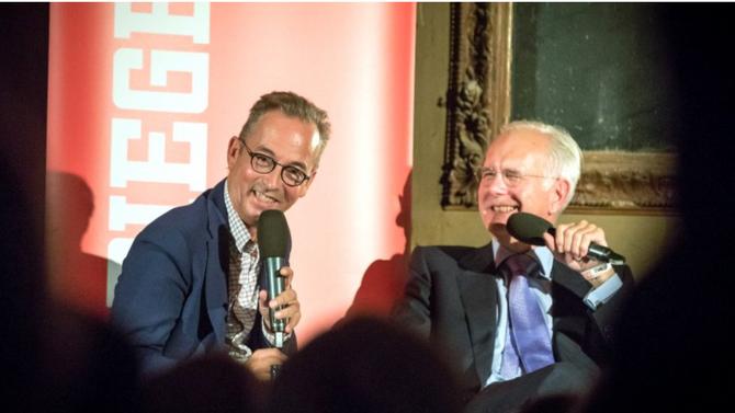 Spiegel- Live- Gespräch im Spiegelsaal mit Harald Schmidt