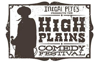 High_Plains_Comedy_Festival_Logo,_Brown,