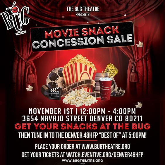 Curbside Movie Snack Sale!