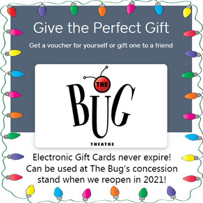 Bug Gift Cards Are The Perfect Holiday Gift!