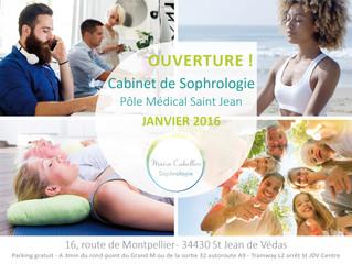 OUVERTURE ! Cabinet de Sophrologie Montpellier Métropole - St Jean de Védas