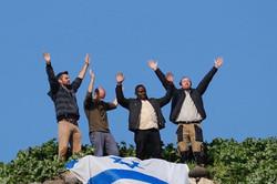3-1 Prayer valley Israel flag