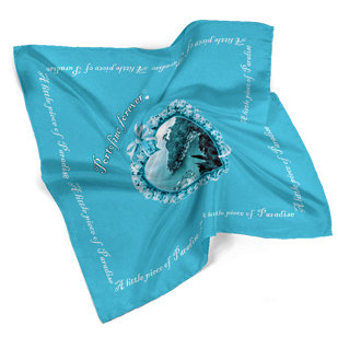 Foulard 4ever Line - Turquoise