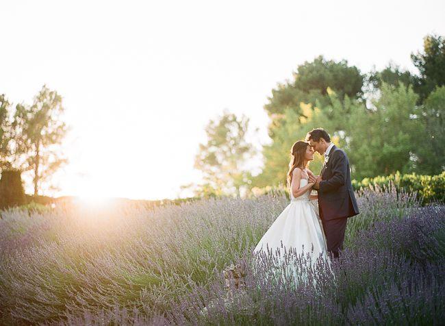 Un joli couple sous les lumières du soleil