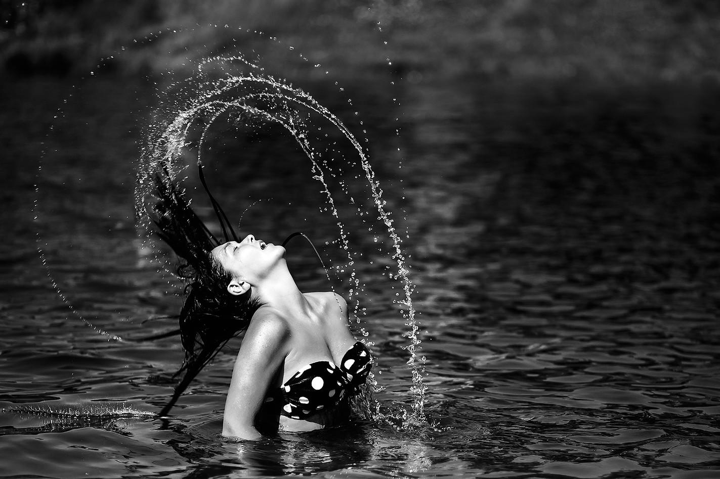 femme,eau,haute vitesse,aquitaine
