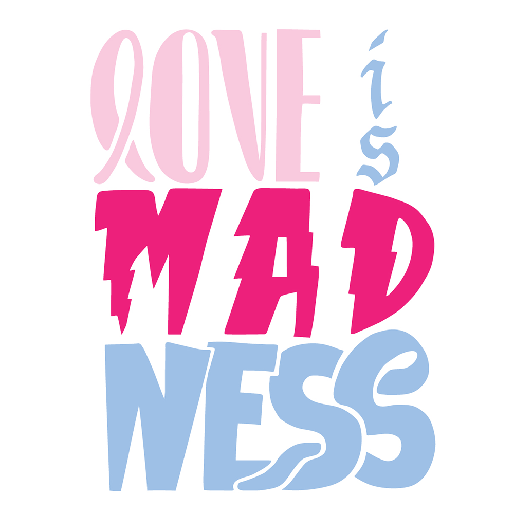 Love is MADness (logo)