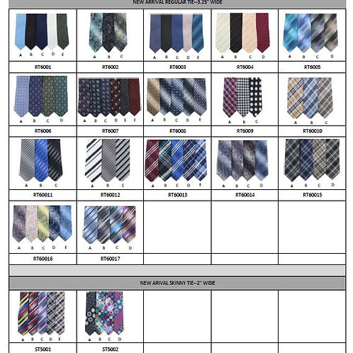 Assorted Tie Sets