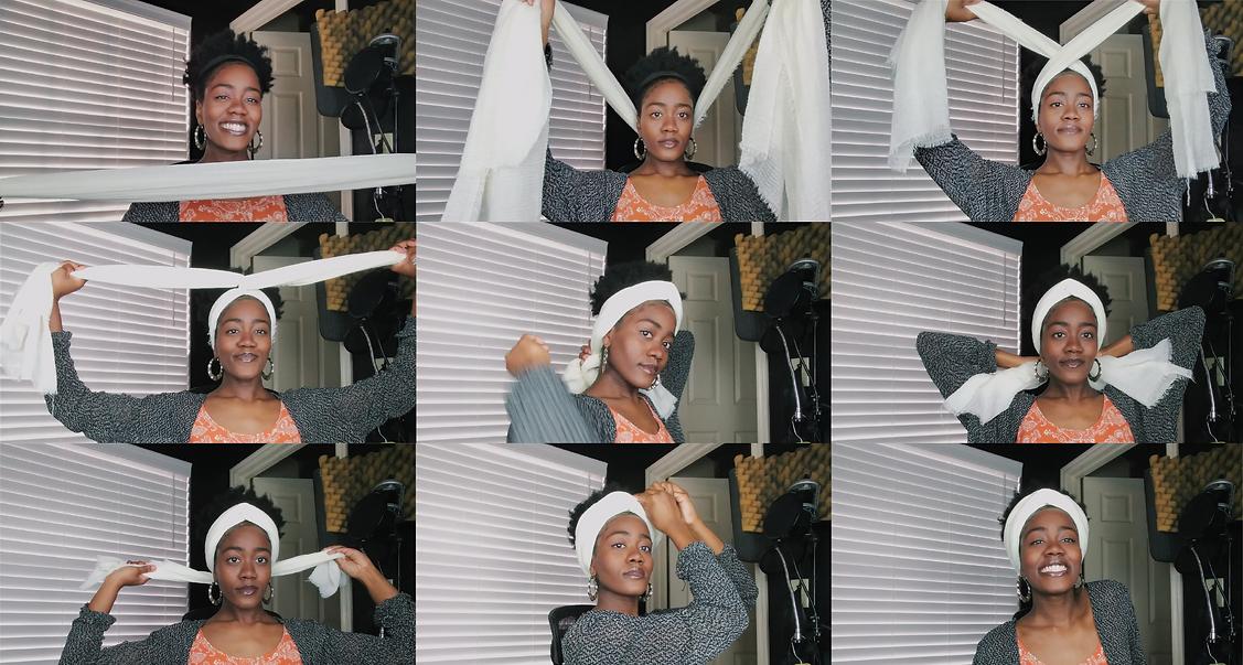 How To Tie A Headwrap (Beginner Friendly
