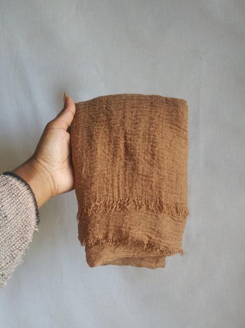 BRONZE Crinkled Cotton