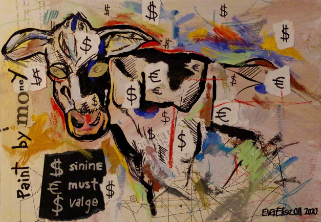 Paint by money