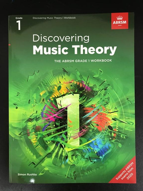 ABRSM Discovering Music Grade 1 - 5 (2020) 樂理書 (全套) (包郵)