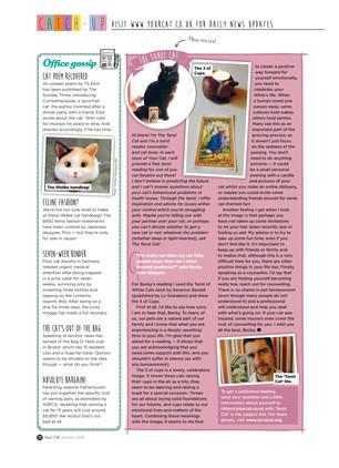 New Column in Your Cat Magazine!