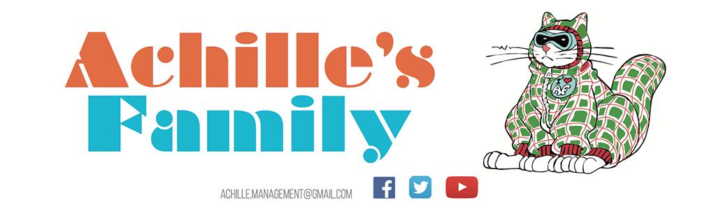 Bannière ACHILLE'S FAMILY