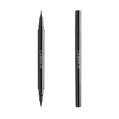 Eyeliner double plume (noir)