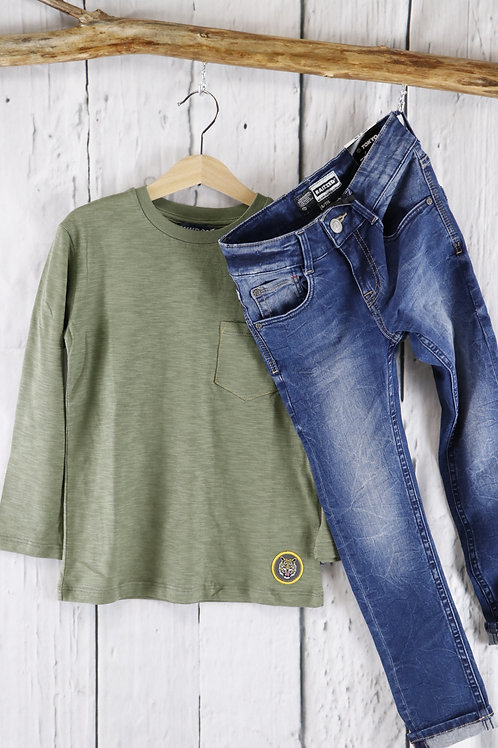 Vinrose - T-Shirt Olive