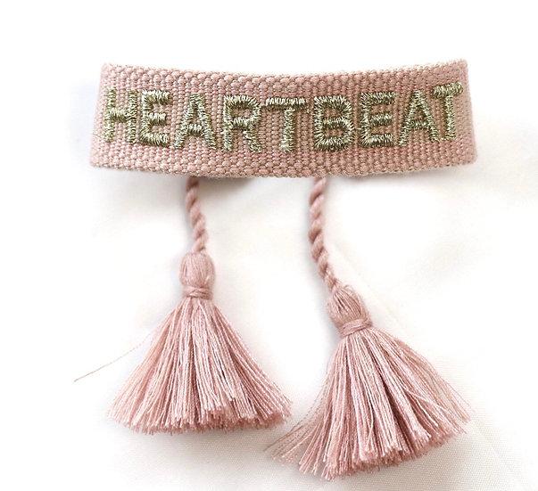 Canvas-Armband 'Heartbeat'