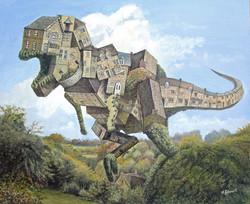 Blockley Dinosaur