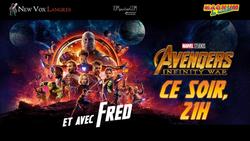 Soirée Avengers : Infinity Wars