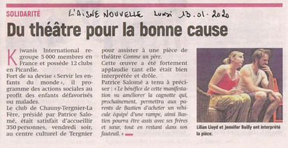 L'Aisne Nouvelle - Janvier 2020