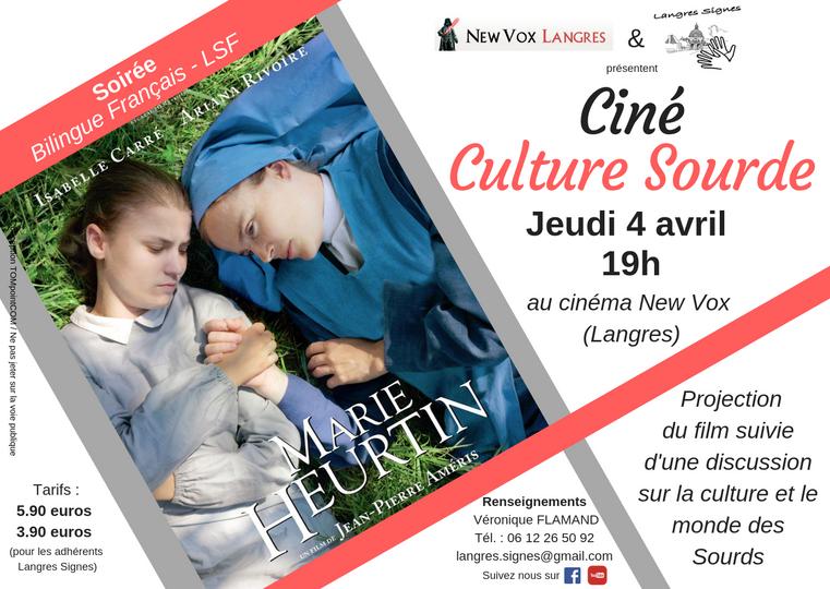 Ciné Culture Sourde