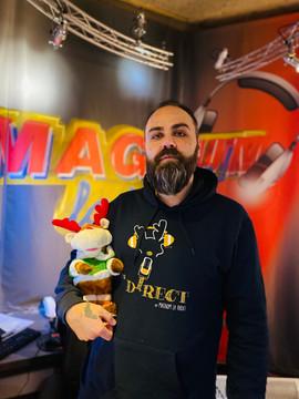 Personnalisé Magnum la Radio