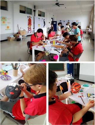 중국 위해_청소년 미술치료캠프