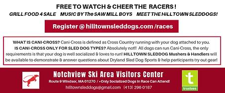 Hilltown Sleddogs October 14th Cani-Cros
