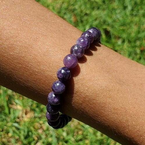Lepidolite bracelet