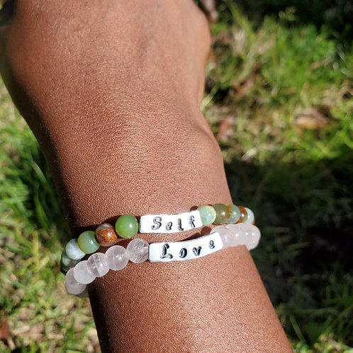 Self love bracelet set