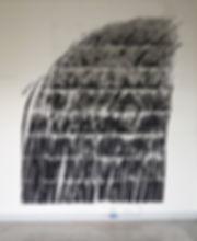 Wasserfall, 2017, Gouache on Paper, 378x