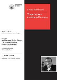 Bruno Moroncini: Tempo logico e progetto dello spazio