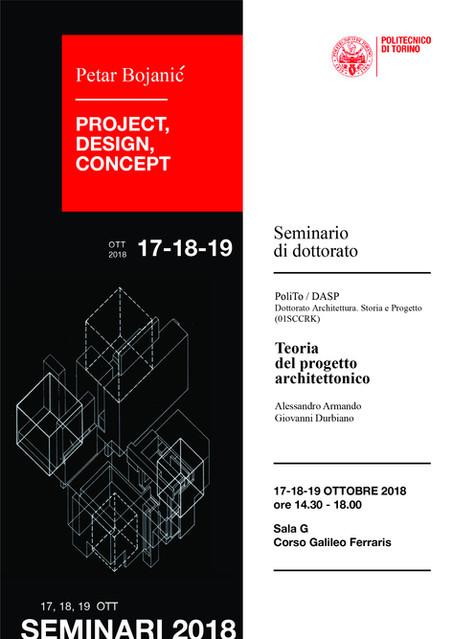 "Petar Bojanic, ""Project, Design, Concept"""