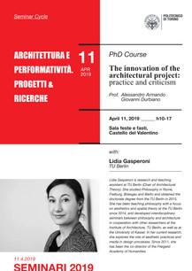 Architettura e Performatività. Progetti e Ricerche