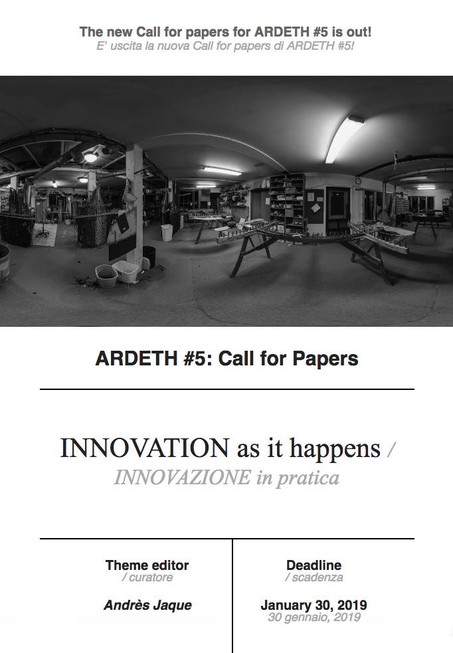 INNOVATION AS IT HAPPENS - Ardeth #5