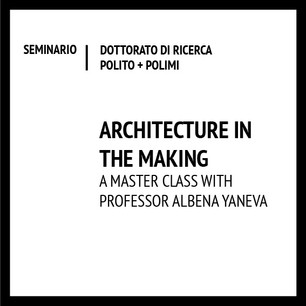 Architecture in the making