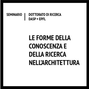 Le forme della conoscenza e della ricerca nell'architettura
