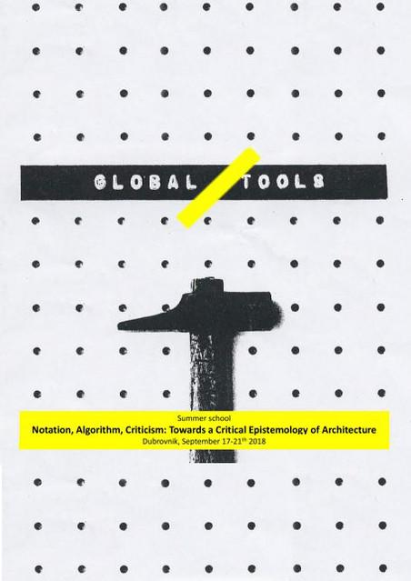 NOTATION, ALGORITHM, CRITICISM: TOWARDS A CRITICAL EPISTEMOLOGY OF ARCHITECTURE