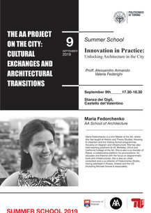 The AA project on the city