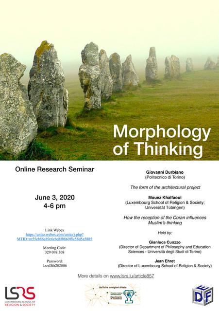 Morphology of Thinking