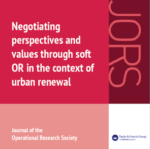 Negotiating perspectives and values through soft OR in the context of urban renewal