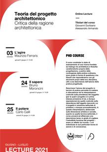 Critica della ragione architettonica